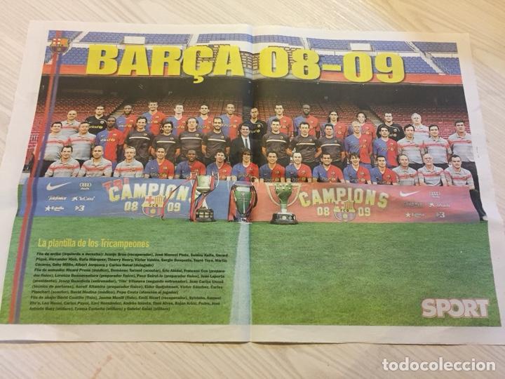 Coleccionismo deportivo: Suplemento periódico sport - Foto 3 - 122712476