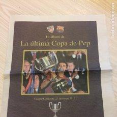 Coleccionismo deportivo: SUPLEMENTO PERIÓDICO SPORT. Lote 122712620