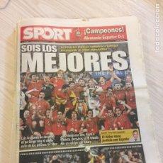 Coleccionismo deportivo: SUPLEMENTO PERIÓDICO SPORT. Lote 122712964