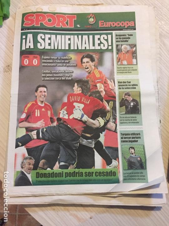 Coleccionismo deportivo: Suplemento periódico sport - Foto 3 - 122712964