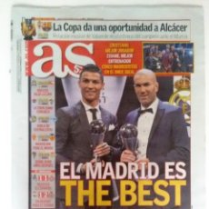 Coleccionismo deportivo: AS: PREMIOS THE BEST 2017. Lote 123097415