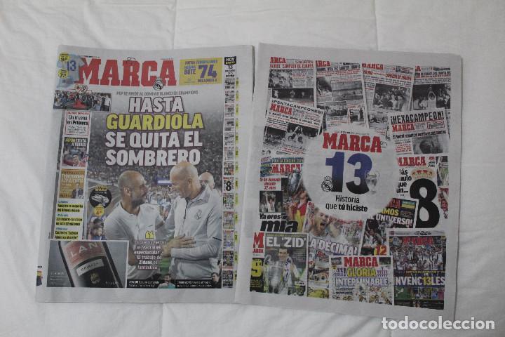 DIARIO MARCA. 31/05/2018. INCLUYE EL SUPLEMENTO HISTORIA QUE TÚ HICISTE. (PORTADAS HISTORICAS) (Coleccionismo Deportivo - Revistas y Periódicos - Marca)