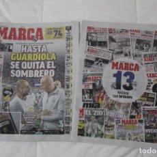 Coleccionismo deportivo: DIARIO MARCA. 31/05/2018. INCLUYE EL SUPLEMENTO HISTORIA QUE TÚ HICISTE. (PORTADAS HISTORICAS). Lote 123163851
