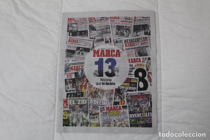 Coleccionismo deportivo: DIARIO MARCA. 31/05/2018. INCLUYE EL SUPLEMENTO HISTORIA QUE TÚ HICISTE. (PORTADAS HISTORICAS) - Foto 2 - 123163851