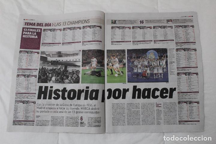 Coleccionismo deportivo: DIARIO MARCA. 31/05/2018. INCLUYE EL SUPLEMENTO HISTORIA QUE TÚ HICISTE. (PORTADAS HISTORICAS) - Foto 3 - 123163851