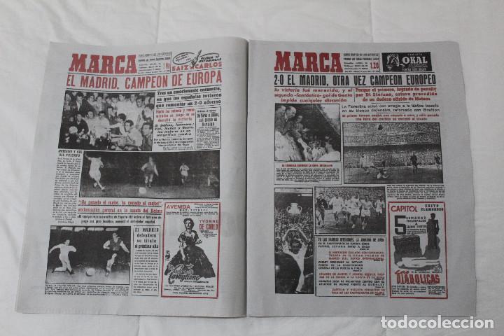 Coleccionismo deportivo: DIARIO MARCA. 31/05/2018. INCLUYE EL SUPLEMENTO HISTORIA QUE TÚ HICISTE. (PORTADAS HISTORICAS) - Foto 4 - 123163851
