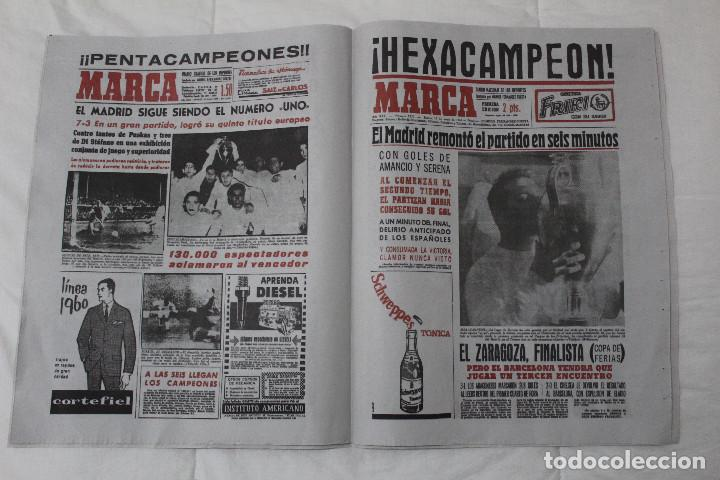 Coleccionismo deportivo: DIARIO MARCA. 31/05/2018. INCLUYE EL SUPLEMENTO HISTORIA QUE TÚ HICISTE. (PORTADAS HISTORICAS) - Foto 5 - 123163851