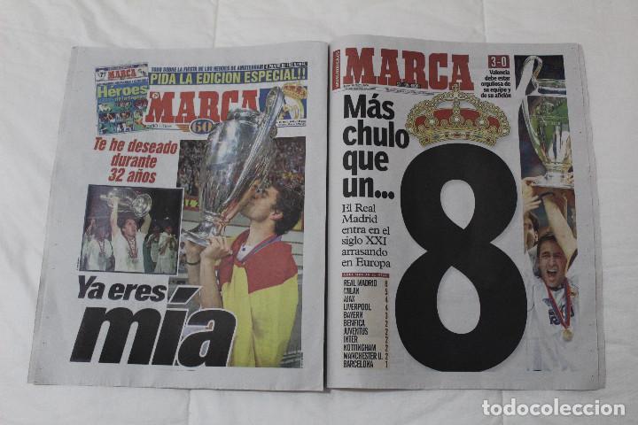 Coleccionismo deportivo: DIARIO MARCA. 31/05/2018. INCLUYE EL SUPLEMENTO HISTORIA QUE TÚ HICISTE. (PORTADAS HISTORICAS) - Foto 6 - 123163851