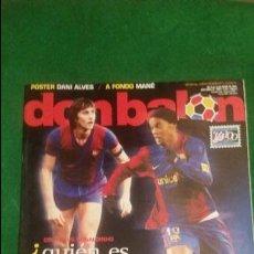 Coleccionismo deportivo: DON BALON Nº 1643 ABRIL 2007 POSTER DANI ALVES NUEVA. Lote 123284075