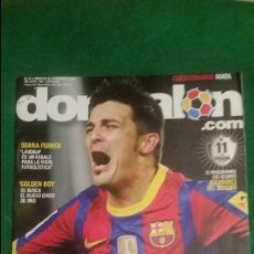 Coleccionismo deportivo: DON BALON Nº 1831 NOVIEMBRE 2010 POSTER CELTA DE VIGO BARÇA 5 REAL MADRID 0 . Lote 123284291
