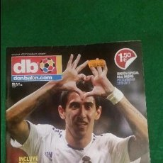Coleccionismo deportivo: DON BALON EXTRA 129 REAL MADRID 2010 2011 POSTER GIGANTE REAL MADRID . Lote 123284371