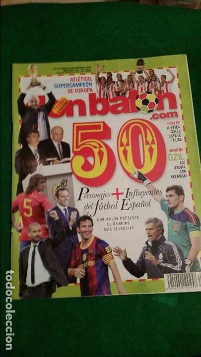 DON BALON Nº 1818 SEPTIEMBRE 2010 POSTER FC BARCELONA CAMPEON DE LIGA (Coleccionismo Deportivo - Revistas y Periódicos - Don Balón)