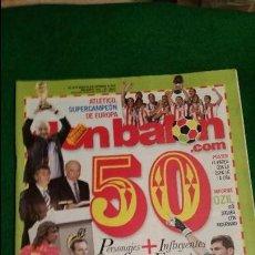 Coleccionismo deportivo: DON BALON Nº 1818 SEPTIEMBRE 2010 POSTER FC BARCELONA CAMPEON DE LIGA. Lote 123285187