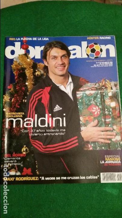 DON BALON Nº 1576 DICIEMBRE 2005 POSTER RACING DE SANTANDER (Coleccionismo Deportivo - Revistas y Periódicos - Don Balón)