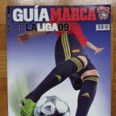 Coleccionismo deportivo: GUÍA MARCA - LIGA 2009. Lote 123344455