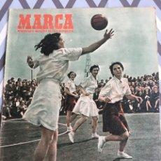 Coleccionismo deportivo: MARCA (21-8-51) R.MADRID AT. MADRID METROPOLITANO TETUAN PLUS ULTRA SAN LORENZO LUANCO LASARTE. Lote 123354815