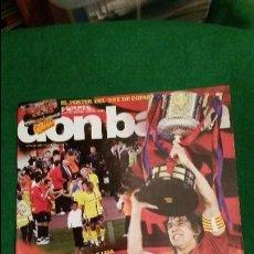 Coleccionismo deportivo: DON BALON Nº 1752 MAYO 2009 FC BARCELONA DOBLETE POSTER FC BARCELONA CAMPEON. Lote 123360191