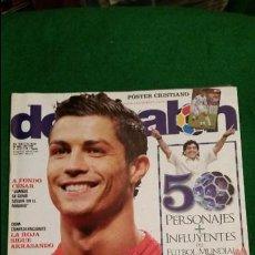 Coleccionismo deportivo: DON BALON Nº 1756 JUNIO 2009 POSTER CRISTIANO RONALDO MANCHESTER UNITED. Lote 123360767