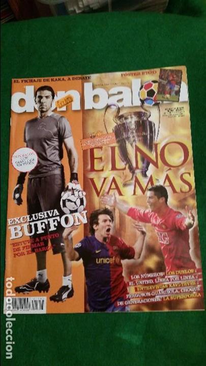 DON BALON Nº 1753 MAYO 2009 MESSI RONALDO POSTER SAMUEL ETOO FC BARCELONA (Coleccionismo Deportivo - Revistas y Periódicos - Don Balón)