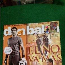 Coleccionismo deportivo: DON BALON Nº 1753 MAYO 2009 MESSI RONALDO POSTER SAMUEL ETOO FC BARCELONA. Lote 123362755