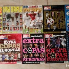 Coleccionismo deportivo: DON BALON EXTRA IMPRESIONANTE LOTE DE 25 GUIAS CHAMPIONS LEAGUE LIGA EUROCOPA MUNDIAL EXTRA. Lote 123367415