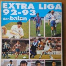 Coleccionismo deportivo: DON BALON. EXTRA LIGA 92-93. Lote 123520395