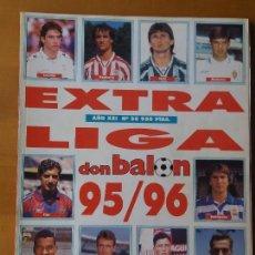 Coleccionismo deportivo: DON BALON. EXTRA LIGA 95-96. Lote 123521387