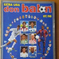 Coleccionismo deportivo: DON BALON. EXTRA LIGA 97-98. Lote 123521771