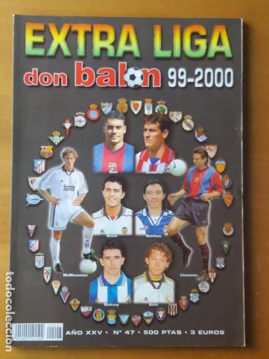 DON BALON. EXTRA LIGA 97-2000 (Coleccionismo Deportivo - Revistas y Periódicos - Don Balón)