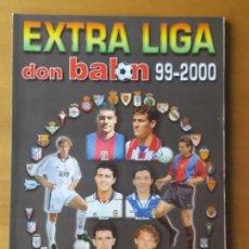 Coleccionismo deportivo: DON BALON. EXTRA LIGA 97-2000. Lote 123522603