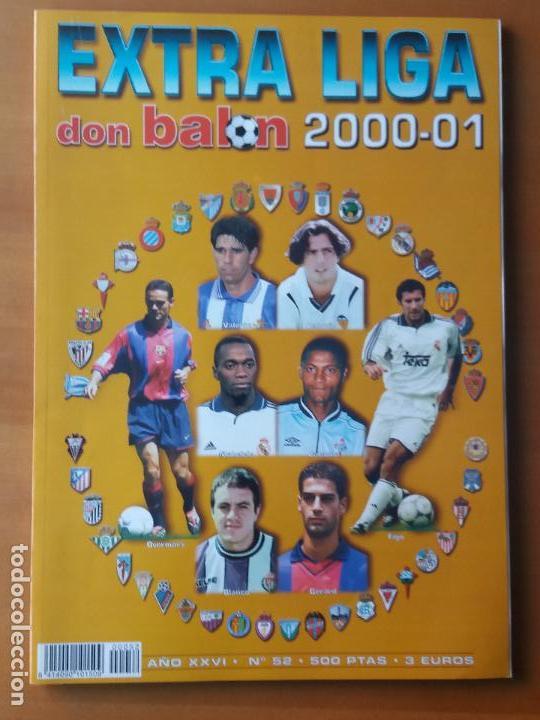 DON BALON. EXTRA LIGA 2000-01 (Coleccionismo Deportivo - Revistas y Periódicos - Don Balón)