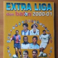 Coleccionismo deportivo: DON BALON. EXTRA LIGA 2000-01. Lote 123522751
