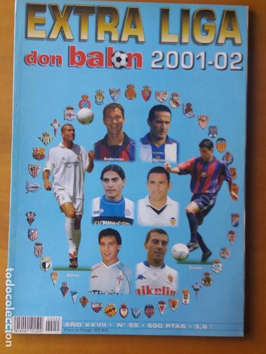 DON BALON. EXTRA LIGA 2001-02 (Coleccionismo Deportivo - Revistas y Periódicos - Don Balón)
