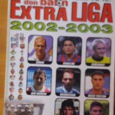 Coleccionismo deportivo: DON BALON. EXTRA LIGA 2002-03. Lote 123524159