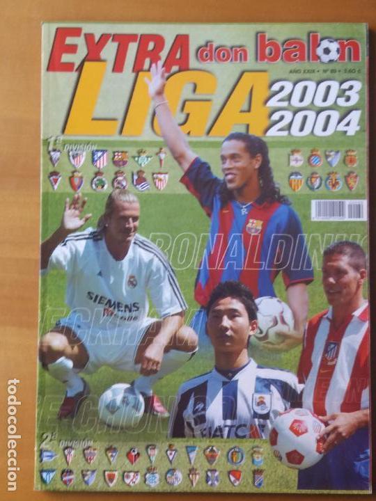 DON BALON. EXTRA LIGA 2003-04 (Coleccionismo Deportivo - Revistas y Periódicos - Don Balón)