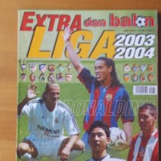 Coleccionismo deportivo: DON BALON. EXTRA LIGA 2003-04. Lote 123524571