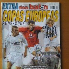 Coleccionismo deportivo: DON BALON. EXTRA COPAS EUROPEAS 2003-04. Lote 123524743