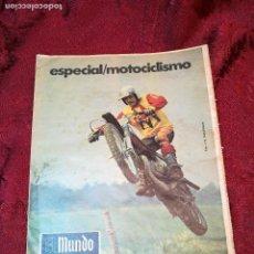 Coleccionismo deportivo: ESPECIAL MOTOCICLISMO 1976 EL MUNDO DEPORTIVO....MUCHA PUBLICIDAD--30 PAG--33 X 24 CM. Lote 123525411