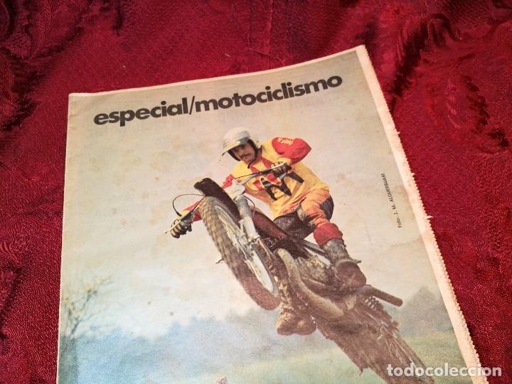 Coleccionismo deportivo: ESPECIAL MOTOCICLISMO 1976 EL MUNDO DEPORTIVO....MUCHA PUBLICIDAD--30 PAG--33 X 24 CM - Foto 4 - 123525411