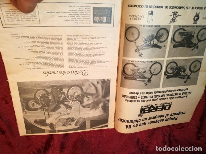 Coleccionismo deportivo: ESPECIAL MOTOCICLISMO 1976 EL MUNDO DEPORTIVO....MUCHA PUBLICIDAD--30 PAG--33 X 24 CM - Foto 5 - 123525411