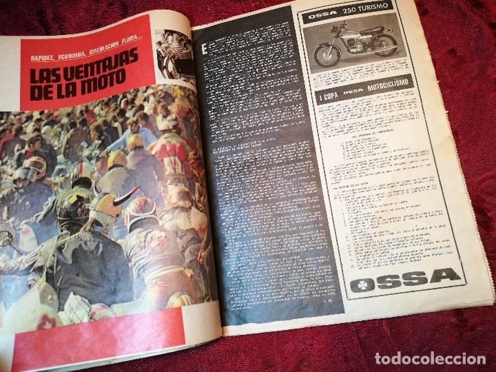 Coleccionismo deportivo: ESPECIAL MOTOCICLISMO 1976 EL MUNDO DEPORTIVO....MUCHA PUBLICIDAD--30 PAG--33 X 24 CM - Foto 6 - 123525411