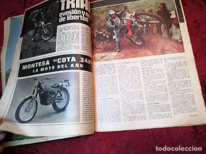 Coleccionismo deportivo: ESPECIAL MOTOCICLISMO 1976 EL MUNDO DEPORTIVO....MUCHA PUBLICIDAD--30 PAG--33 X 24 CM - Foto 7 - 123525411