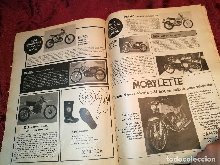 Coleccionismo deportivo: ESPECIAL MOTOCICLISMO 1976 EL MUNDO DEPORTIVO....MUCHA PUBLICIDAD--30 PAG--33 X 24 CM - Foto 8 - 123525411