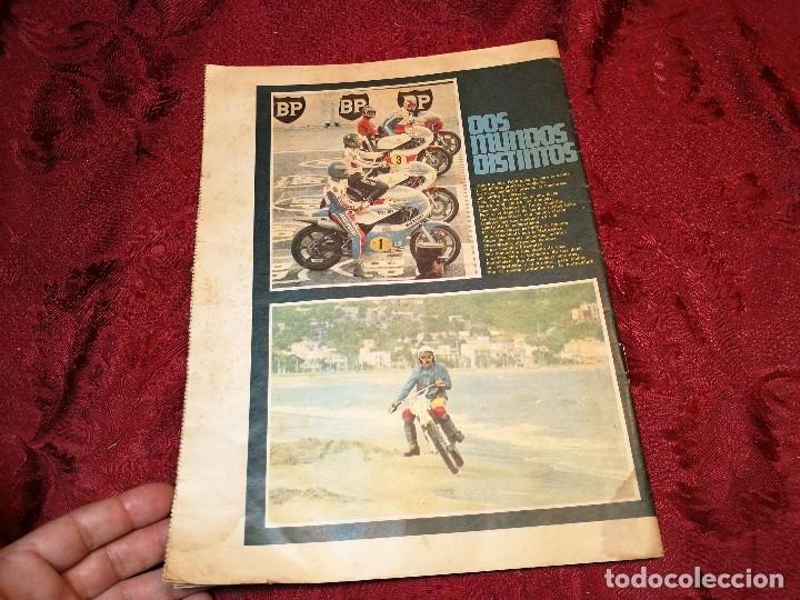 Coleccionismo deportivo: ESPECIAL MOTOCICLISMO 1976 EL MUNDO DEPORTIVO....MUCHA PUBLICIDAD--30 PAG--33 X 24 CM - Foto 9 - 123525411
