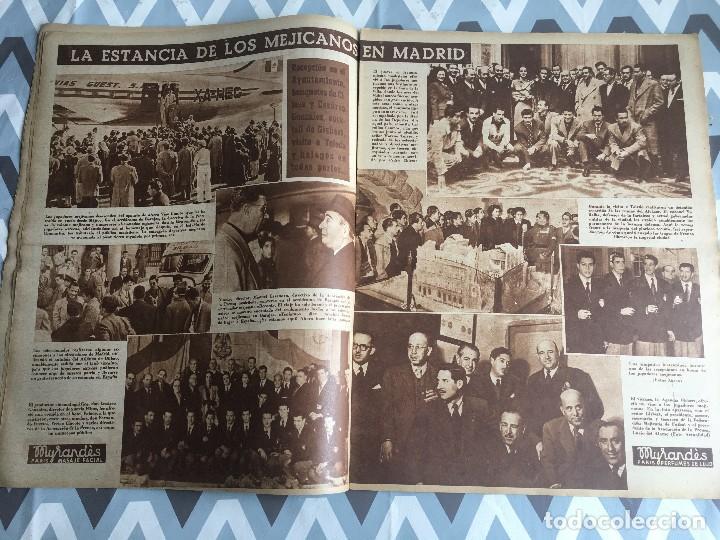 Coleccionismo deportivo: MARCA (29-11-49) REAL MADRID MEXICO FOTO PRIMER ATLETICO MADRID VIZCAYA ARENAS BODAS ORO BARCELONA - Foto 6 - 123531851