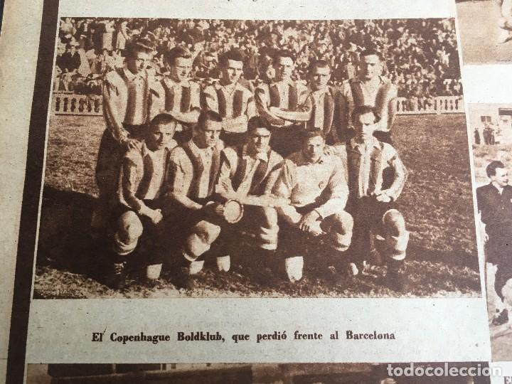 Coleccionismo deportivo: MARCA (29-11-49) REAL MADRID MEXICO FOTO PRIMER ATLETICO MADRID VIZCAYA ARENAS BODAS ORO BARCELONA - Foto 11 - 123531851