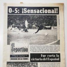 Coleccionismo deportivo: MUNDO DEPORTIVO REAL MADRID FC BARCELONA 0-5 LIGA 73-74, 18 FEBRERO 1974,JOHAN CRUYFF NETZER.. Lote 123795231