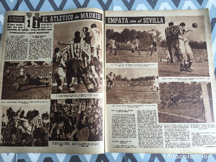 Coleccionismo deportivo: MARCA (24-4-51) ATLETICO MADRID CAMPEON LIGA EN SEVILLA POSTER RUGBY BARCELONA SEU DE MADRID - Foto 4 - 123862363