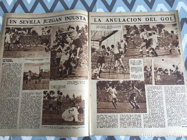 Coleccionismo deportivo: MARCA (24-4-51) ATLETICO MADRID CAMPEON LIGA EN SEVILLA POSTER RUGBY BARCELONA SEU DE MADRID - Foto 5 - 123862363