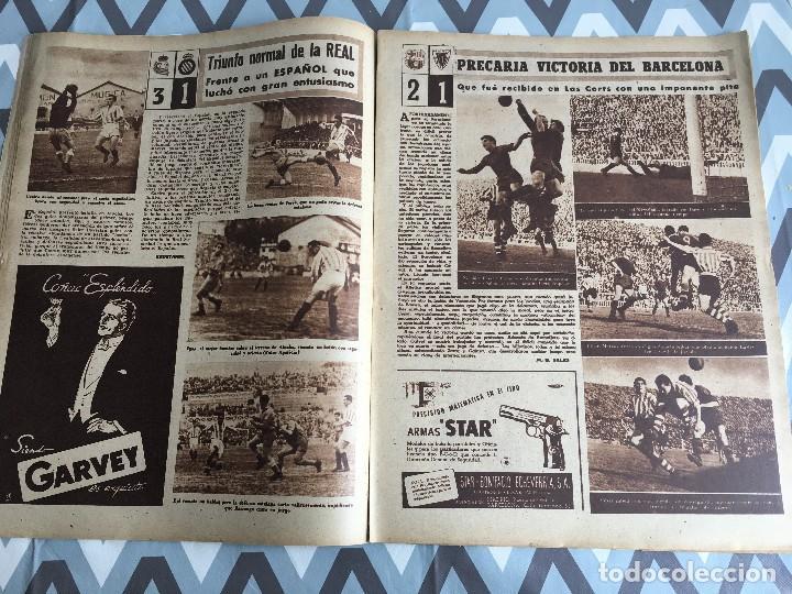 Coleccionismo deportivo: MARCA (24-4-51) ATLETICO MADRID CAMPEON LIGA EN SEVILLA POSTER RUGBY BARCELONA SEU DE MADRID - Foto 8 - 123862363